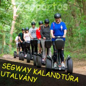 Segway kalandtúra csoportos utalvány